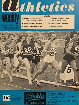 £3.99 • Buy ATHLETICS WEEKLY THE ATHLETES MAGAZINE Aug 3rd1968 Vol 22 No31 GOOD CONDITION