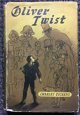 £85 • Buy Oliver Twist, Charles Dickens, Illustrated By Harry Keir, C1940's