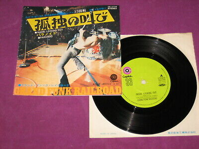 £10 • Buy Grand Funk - Inside Looking Out/paranoid - Capitol Japan 1971 W/ps Very Scarce!!