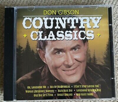 £1.90 • Buy Don Gibson - Country Classics
