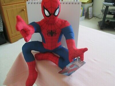 £5.50 • Buy Spider-Man 12  Plush Famosa Softies Marvel Brand New With Tags