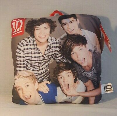 £1.50 • Buy Offical 1d 10  Cushion Pillow Soft Cuddle One Direction Padded Bedroom New