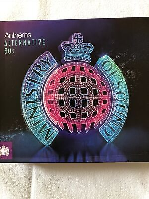 £4 • Buy Various Artists - Ministry Of Sound Anthems - Alternative 80's - 3 X CD Album