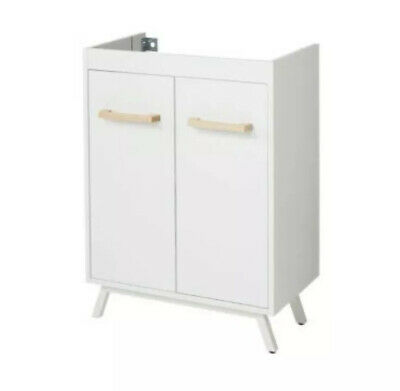 £25 • Buy Cooke & Lewis Ladoga White Vanity Basin Unit, (W)600mm, (H)810mm COLLECTION ONLY