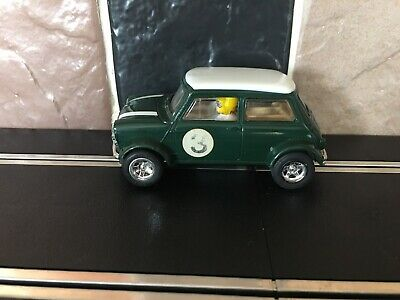 £15 • Buy Scalextric Mini Cooper, Green With White Roof
