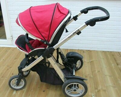£55 • Buy Oyster Max Double Pushchair Red