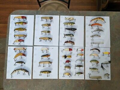 $ CDN133.84 • Buy Vintage Lures Lot 45 Total Including Heddon Paw Paw Creek Chub South Bend +more