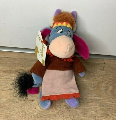 £5.99 • Buy Official The Disney Store Indian Eeyore Soft Toy Plush With Tags