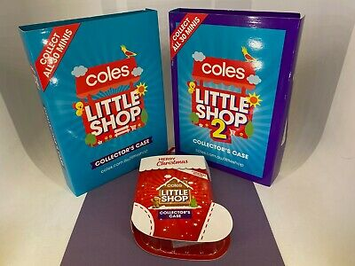 $154.36 • Buy Coles - Little Shop - Collectible Lot Of #1, #2 & Christmas Editions - COMPLETE