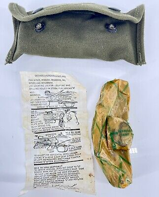 $24 • Buy WWII 1944 Site For M1 Garand / M1 Carbine Unissued With Case - Instruction Card