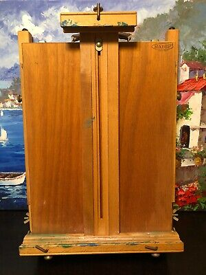 £100.56 • Buy Vintage MABEF Art Painting Travel Easel- Model M-22 Italy Excellent Condition