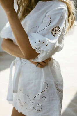 AU145 • Buy Spell And The Gypsy LaLa Linen Shift Dress M