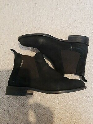 £28.90 • Buy Russell And Bromley Black Suede Chelsea Boots 38/uk 5