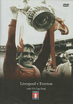 £6.99 • Buy Dvd/ 1986 Fa Cup Final: Liverpool V Everton/ New!