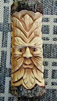 £13.50 • Buy Green Man Of The Woods... Wood Carving