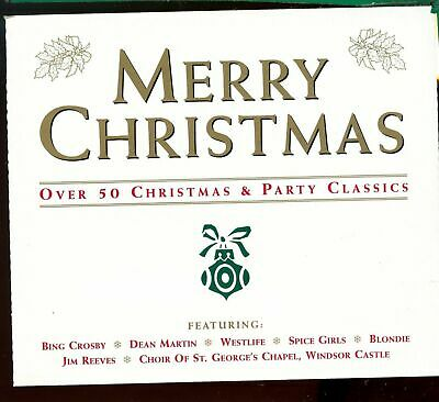£3 • Buy Merry Christmas / Over 50 Christmas & Party Classics - 3CD Fatbox