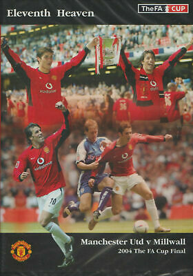 £10.99 • Buy Dvd/ 2004 Fa Cup Final: Manchester Utd V Milwall/ New!