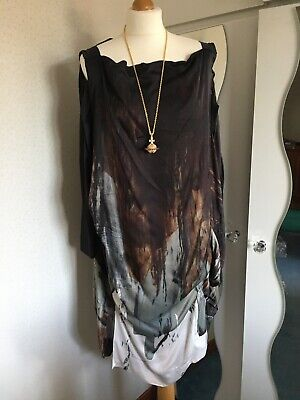 £250 • Buy Vivienne Westwood M To 48 Loose Dress Anglomania