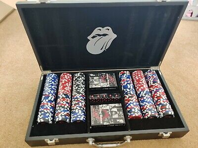 £175 • Buy Rare Rolling Stones CASINO BOOGIE Limited Edition Poker Set #876/1000
