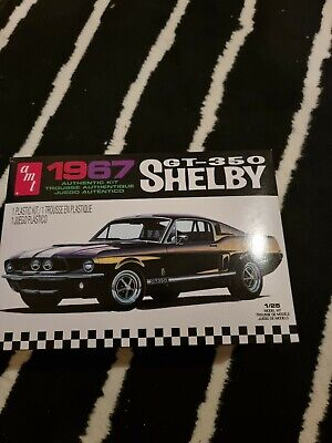 £22 • Buy AMT 1:25 834 1967 MUSTANG Shelby GT-350, Black - New
