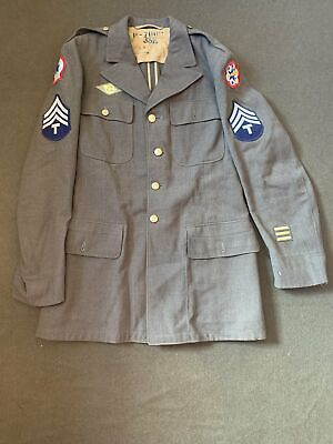 £70 • Buy Original American US WW2, Enlisted Man's Class A Tunic, W. Pacific/North Africa