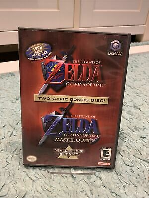 £44.95 • Buy The Legend Of Zelda Ocarina Of Time + Master Quest GameCube NTSC USA Complete