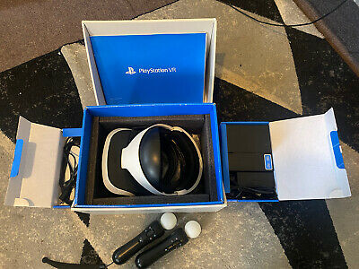 AU200 • Buy PS4 VR Headset  With Motion Controllers X2 (read Description)