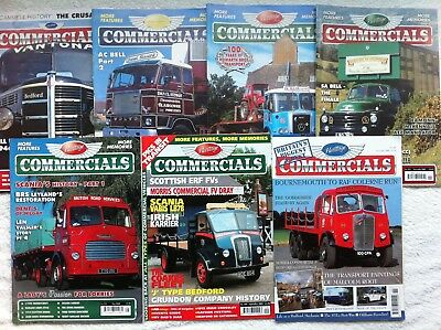 £11.99 • Buy Heritage Commercials Magazine (7 Copies) - Various Back Issues 2002 - 2009
