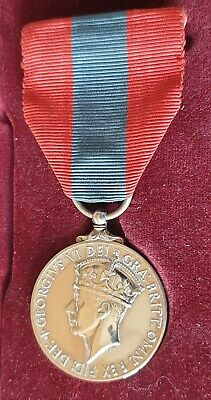 £49.99 • Buy Superb Imperial Service Medal - George Vi - Award To Gpo Postman Mbe Recipient