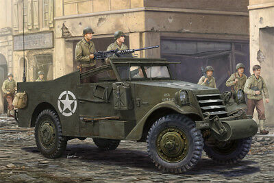 $44.14 • Buy Hobbyboss 1/35 M3A1 White Scout Car Late Production # 82452