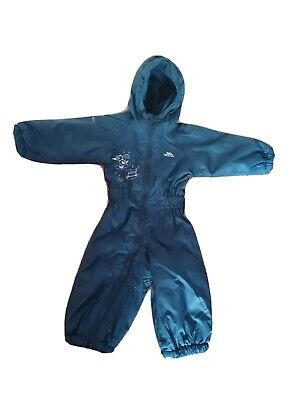 £3.50 • Buy Trespass Puddle Suit / All In One Rain Coat 6-12 Months