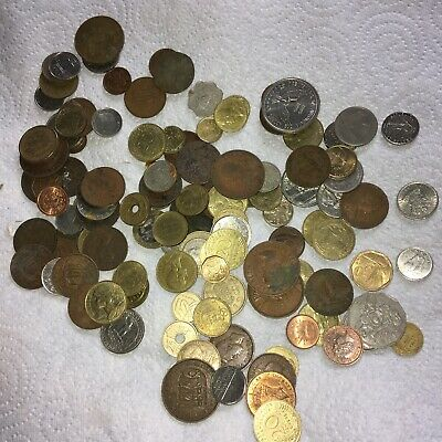 £10 • Buy Job Lot Foreign (mostly) Coins
