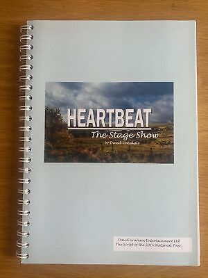 £39.99 • Buy Autographed Hand Signed Heartbeat The Stage Show Script By David Lonsdale