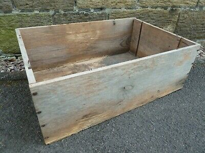 £10 • Buy Wooden Box / Crate Wine Box - French
