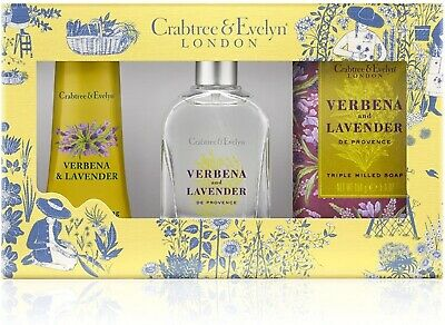 £55 • Buy Crabtree And Evelyn Verbena And Lavender 30ml Edt With Soap & Hand Cream