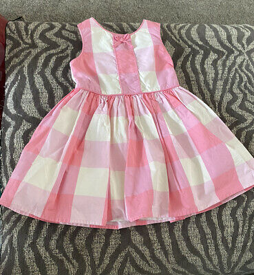 £2.30 • Buy Dress Next Baby Girls 12-18 Months, Pink Checked.