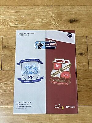 £0.99 • Buy PNE Play-Off Final 2015 Official Matchday Programme
