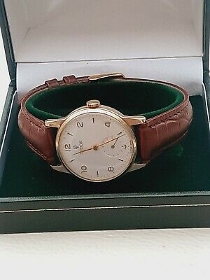 £615 • Buy 9ct Gold Tudor By Rolex Mens Watch In Good Vintage Condition