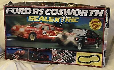 £89.99 • Buy Vintage Ford RS Cosworth Scalextric Set By Hornby