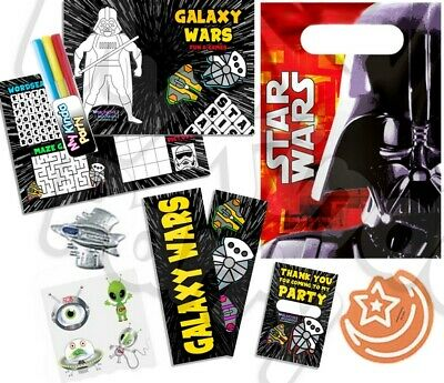 £2.35 • Buy Pre Filled Star Wars Party Bag -  Space Themed Parties Activity Gift Bags