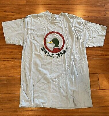 £24.79 • Buy NOS Vintage 80s Duck Head T-Shirt Size XL Double Sided Duck Tail
