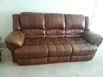 £50 • Buy 3 Seater Sofa And 2 Armchairs - Large 3 Piece Suite: Collection From St Helens