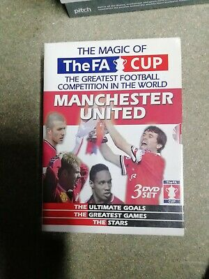 £3.99 • Buy Dvd Manchester United Fa Cup 3 Dvd Boxset