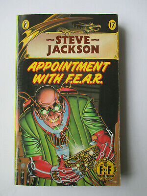 AU27.80 • Buy Appointment With F.E.A.R. Steve Jackson Fighting Fantasy #17