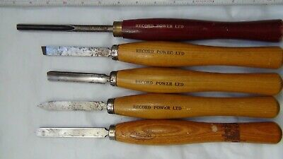£80 • Buy Record Power Lathe Chisels And Gouges