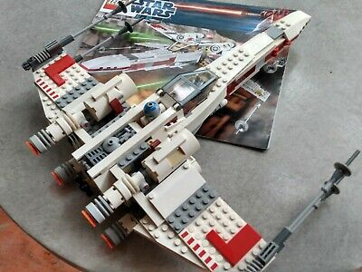 £36.21 • Buy LEGO 9493 Star Wars X-Wing Starfighter Complete Ship And 2 Minifigures & Manual