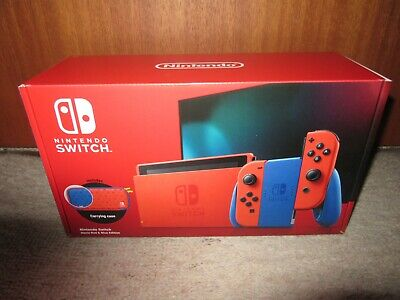 AU468 • Buy Nintendo Switch Mario Red And Blue Edition Console Brand New