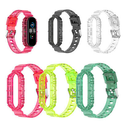 $3.59 • Buy Transparent Strap For Xiaomi Mi Band 6/5/4/3 Replacement Silicone Bracelet Bands