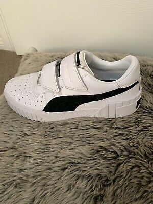 AU65 • Buy Puma White And Black Joggers Size 36 Worn Once