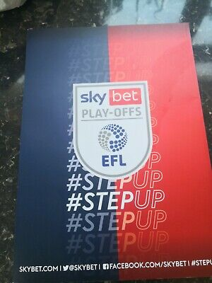 £5 • Buy Sky Bet League One Play-Off Final Programme Blackpool Vs Lincoln City 30 May...